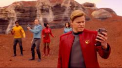 "Jesse Plemons, foreground, in a scene from ""Black Mirror."""