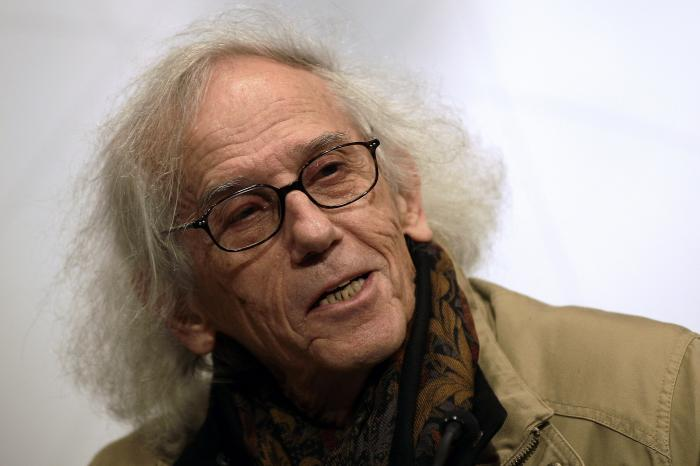In this March 15, 2013 file photo, Bulgarian artist Christo
