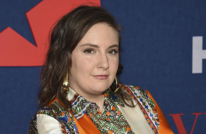 "Lena Dunham attends the premiere of the final season of HBO's ""Veep"" on March 26, 2019, in New York."