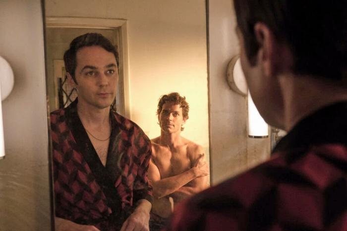 "Jim Parsons and Matt Bomer in Netflix's ""The Boys in the Band"""