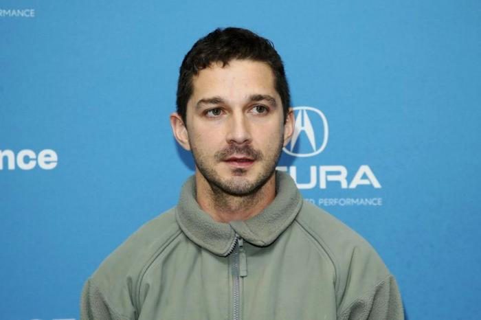 Shia LaBoeuf at the 2019 Sundance Film Festival