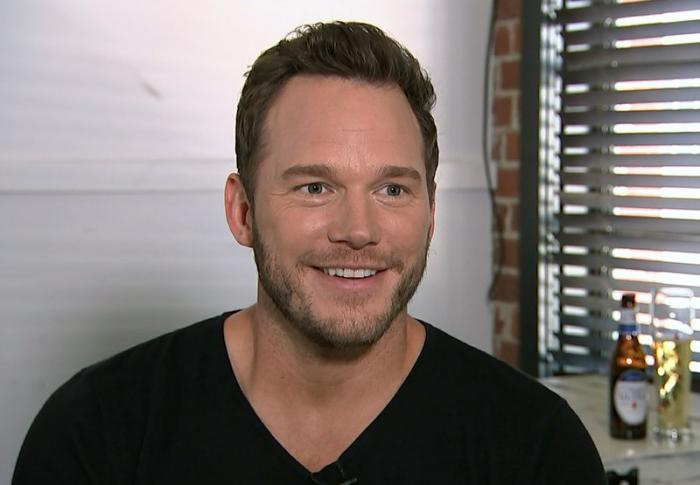 Chris Pratt during an interview at the Fellow Bar in Los Angeles.