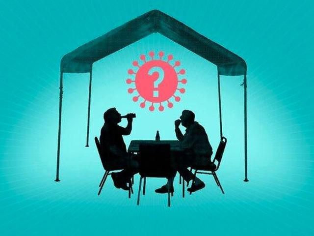 Are Dining Tents a Safe Way to Eat Out During the Pandemic?