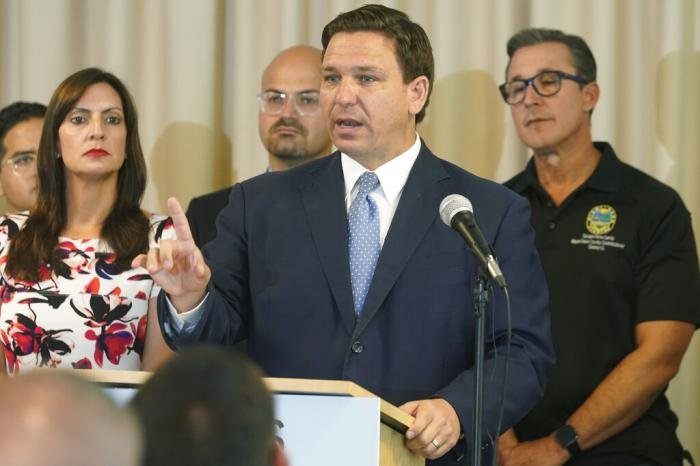 Florida Gov. Ron DeSantis is now touting a COVID-19 antibody treatment in which a top donor's company has invested millions of dollars.